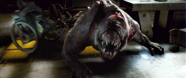 Pinky-monsteri Doomin legendaarisessa Karl Urbanin hahmon silmien läpi nähdyssä kohtauksessa